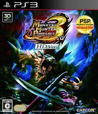 Monster Hunter Portable 3rd HD Ver PS3 Capcom Playstation 3 Japan USED