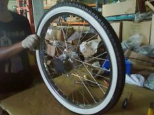 "Front 26"" wheel assembly fits whizzer Cruzzer motorbikes and others"