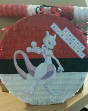 Pokemon Go Mewtwo Pinata with Sweets & Stick Any Character Can be Personalised