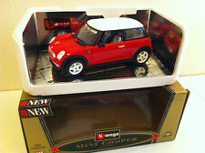 B Burago (Gold collection) - Mini Cooper (1/18)
