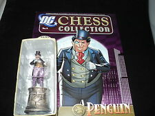 Eaglemoss DC Chess Collection - Issue 4 - Penguin Black Night with magazine