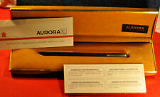 """Aurora"" Thesi  Original 1970's Design - Gold & Blue Lacquer Ball point pen"
