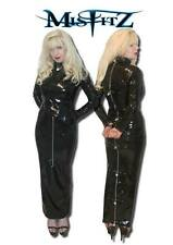 Misfitz pvc padlock hobble strait jacket dress. Sizes 8-32/made to measure/TV