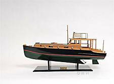 "27.5"" Hemingway™ Pilar Fishing Boat HANDCRAFTED WOODEN BOAT MODEL"