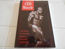 "JAY CUTLER   ""CEO MUSCLE"" S/C RARE/RARE AUTOGRAPHED COPY!!!!"