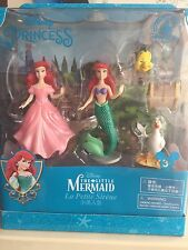 disney parks ariel scuttle flounder playset cake topper new with box