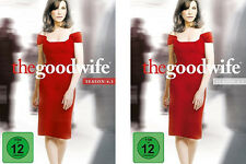 6 DVDs * THE GOOD WIFE - STAFFEL / SEASON 4 (4.1+4.2) IM SET ~ MB # NEU OVP =