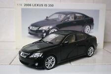 1:18 Autoart Lexus IS350 Black 2006 LHD 78812