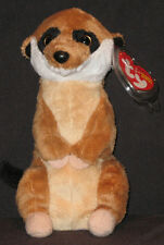 TY BURROWS the MEERKAT BEANIE BABY - MINT with MINT TAGS