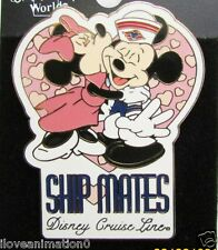 Disney DCL Cruise Ship Mates Mickey Mouse & Minnie Mouse Kissing Pin **
