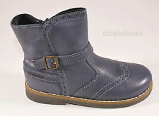 Primigi Girls Etten Blue Leather Zip Ankle Boots UK 8 EU 26 US 8.5 RRP £45.00