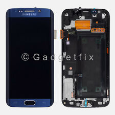 Verizon Samsung Galaxy S6 Edge G925V LCD Display Touch Screen Digitizer + Frame