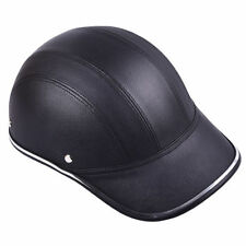 Motorcycle Bike Scooter Half Helmet Baseball Style Safety Hard Hat Open Face PP