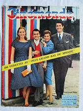 CINEMONDE 1248 (1958) GENEVIEVE PAGE ROBERT HIRSCH ANNIE GIRARDOT JC PASCAL