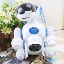 Electronic Walking Pet Robot Dog Puppy Baby Friend Toy Gift With Music Light
