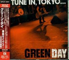 Green Day - Tune In Tokyo JAPAN CD WPCR-10973 OBI