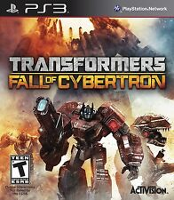 Transformers: Fall of Cybertron - Playstation 3 PlayStation 3
