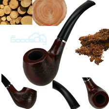 New Wooden Enchase Smoking Pipe Tobacco Cigarettes Cigar Pipes Gift Durable
