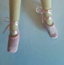 OHC  Doll ballet shoes(pink) Fits Blythe, Momoko, and only hearts club dolls