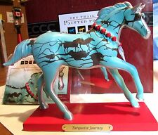 2016 Trail of Painted Ponies Turquoise Journey Horse Figurine  #4053784 NIB!