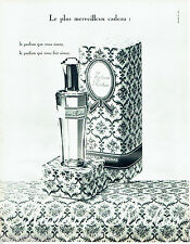 PUBLICITE ADVERTISING 026  1962  Marcel Rochas parfum femme Madame
