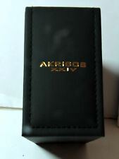 New Akribos XXIV Wrist Watch Box