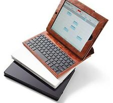 Frontgate iPad Case With Bluetooth Keyboard With USB Charging Cable And Manual