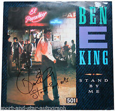 Ben E King SIGNED AUTOGRAPH Stand By Me Album AFTAL UACC RD
