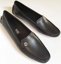 8 NWB $595 NIB GUCCI WOMEN'S Loafer Driving Moccasin Tumbled Leather Size 38