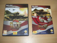 Theatre of war 3-corée pc dvd rom-rapide secure post
