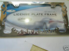 2 Flames Plastic License Plate Frame