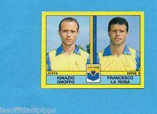 PANINI CALCIATORI 1988/89-Figurina n.458- GNOFFO+LA ROSA - LICATA -Recuperata