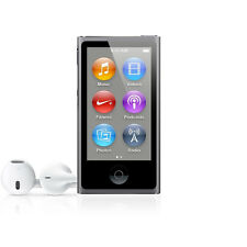 Apple Ipod Nano 7th Generación Gris Espacial 16GB. Solo Ipod