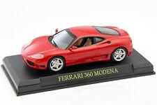 FERRARI 360 Modena anno di costruzione 1999-2005 ROSSO 1:43 ALTAYA