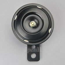 12V 105db Motorcycle Motorbike Bike Siren Horn Universal Mount 70mm Black JUK