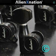 """Early Charvel Jackson 6 Inline Tuners with """"TM"""" Logo Factory Install"""