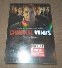 Criminal Minds - The Complete First Season (DVD, 2006, 6-Disc Set) **BRAND NEW**