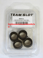 TEAM SLOT N0015 High Grip Rubber Tyres x 4 - 18 x 9.5mm - (15.9mm Inside) - New