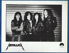 "Metallica ""Black Album"" Vintage Publicity/Press Photo 2 Slayer Megadeth Exodus"