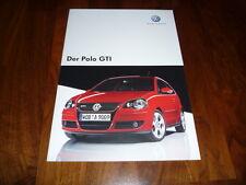 VW Polo GTI Prospekt 05/2007