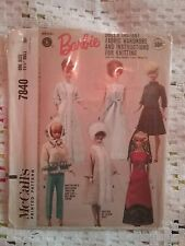 Barbie Doll vintage pattern