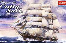 Academy Clipper ship Cutty Shark 1:350 Aliante Nave a vela Modello Kit Kit nuovo
