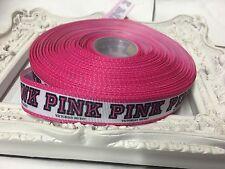 Neuf 1 mètre secret rose gros-grain ribbon designer 22mm gâteaux nœud mannequin