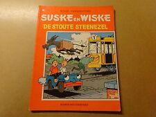 STRIP / SUSKE EN WISKE 178: DE STOUTE STEENEZEL | Herdruk 1988