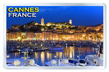 CANNES FRANCE FRIDGE MAGNET SOUVENIR IMAN NEVERA