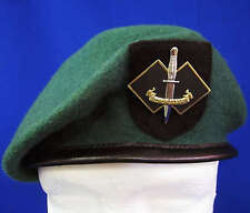 RARE AUSTRALIA 2 COMMANDO REGIMENT ELITE SPECIAL FORCES BERET & BADGE * LARGE *
