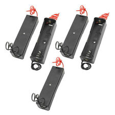 5x Plastic Battery Holder Storage Box Case for 18650 Rechargeable Battery