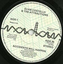 ELVIS COSTELLO & THE ATTRACTIONS - ACCIDENTS WILL HAPPEN - ORIGINAL 70s NEW WAVE