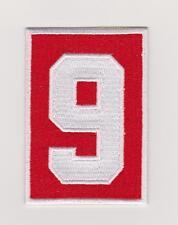 Gordie Howe Memorial Patch Detroit Red Wings # 9 Home Jersey 2016/17
