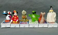 1998 LOT: 6 MCDONALD'S HAPPY MEAL TOYS DISNEY MOVIE TRAIN CARS Mary Poppins Lady